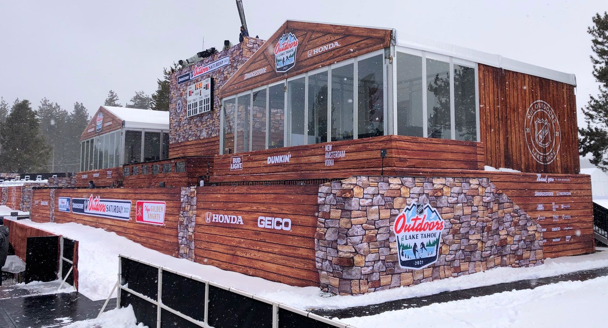 NHL Outdoor Games Tahoe 2021 Showcase Image