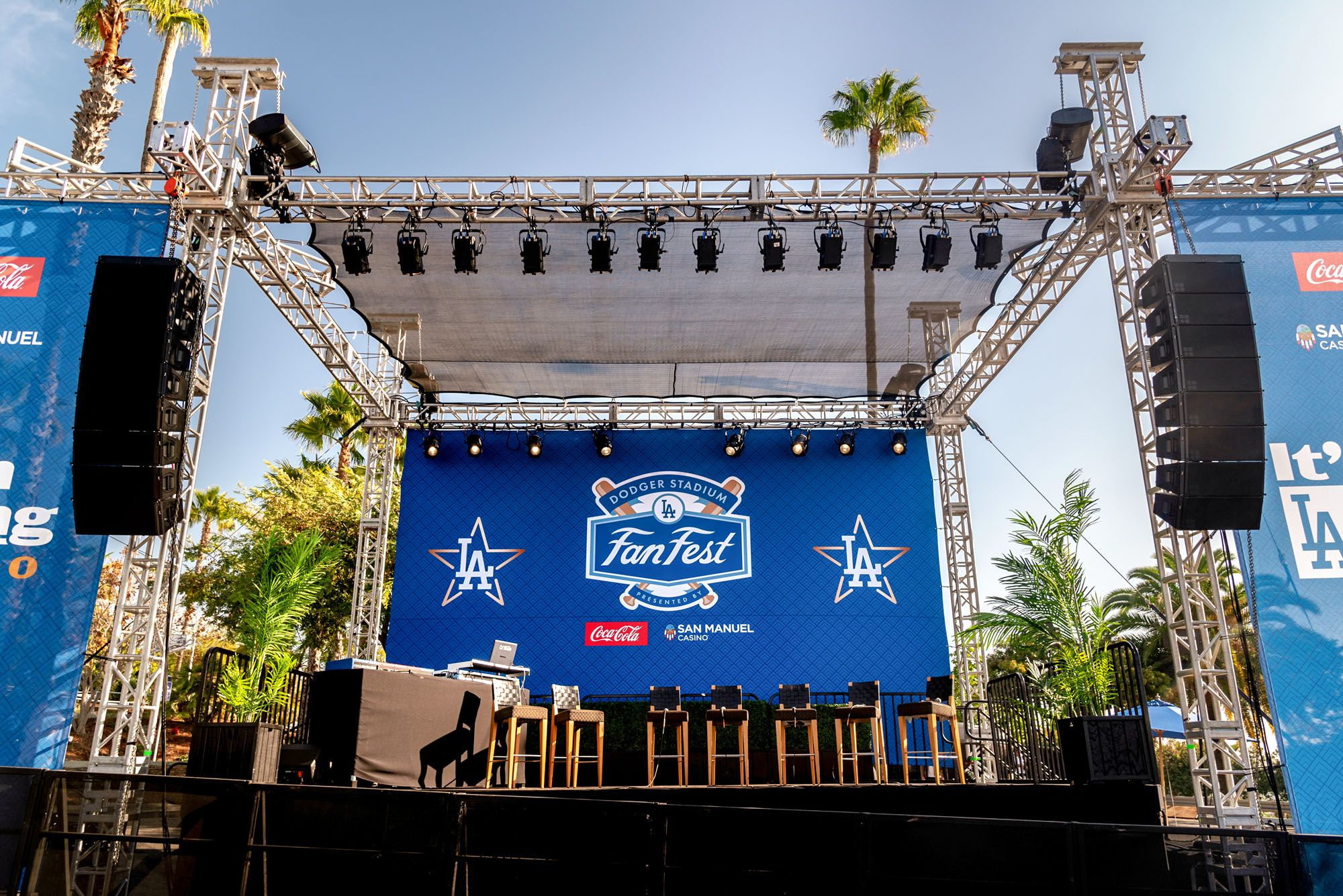 2020 Dodgers Fan Fest Showcase Image